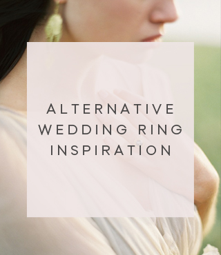 Alternative engagement ring inspiration