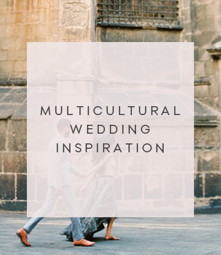 Multicultural wedding inspiration