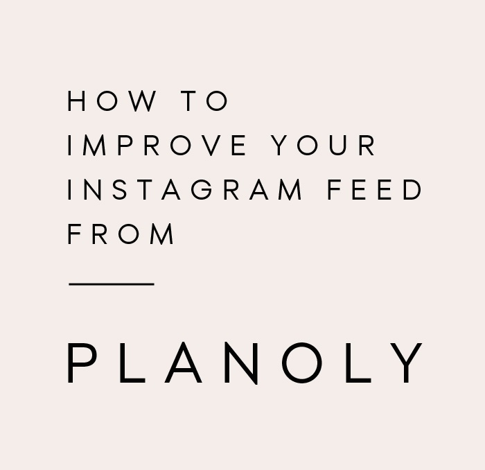 How to Plan the Perfect Instagram Feed