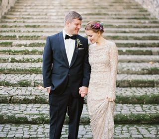 Fashionable wedding abroad