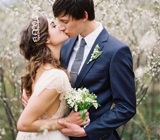 Delicate Tuscan inspired wedding