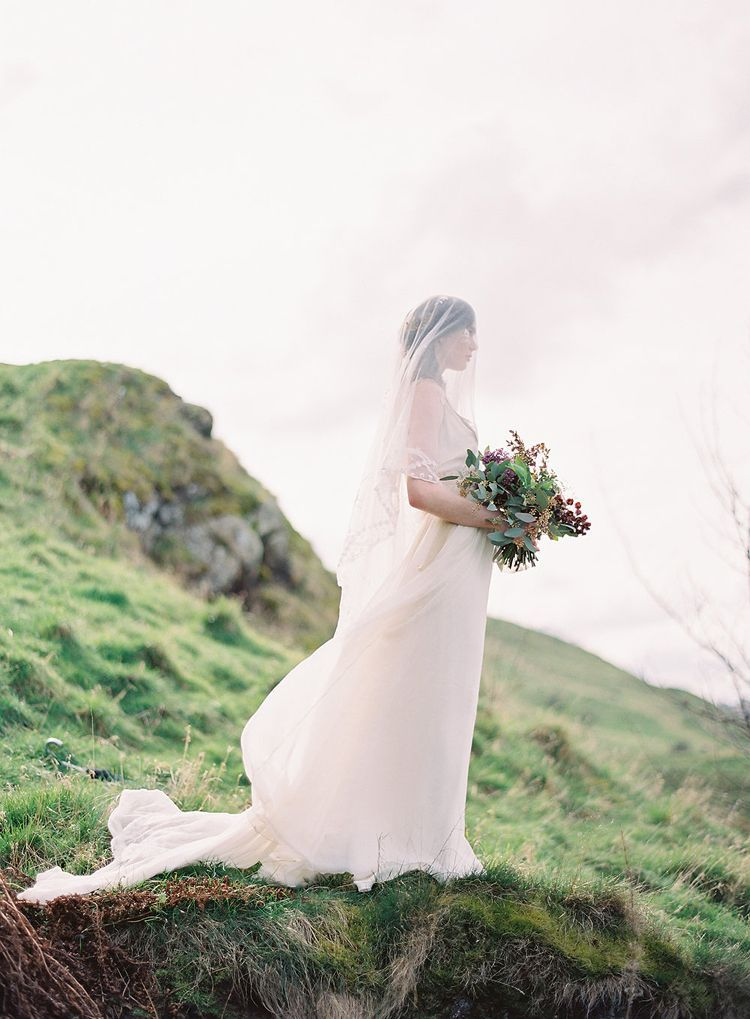 Dreamy Outdoor Wedding Inspiration in the Scottish Countryside