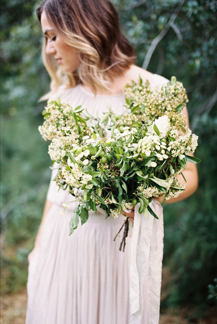 Organic Wedding Inspiration in Neutral Color Scheme