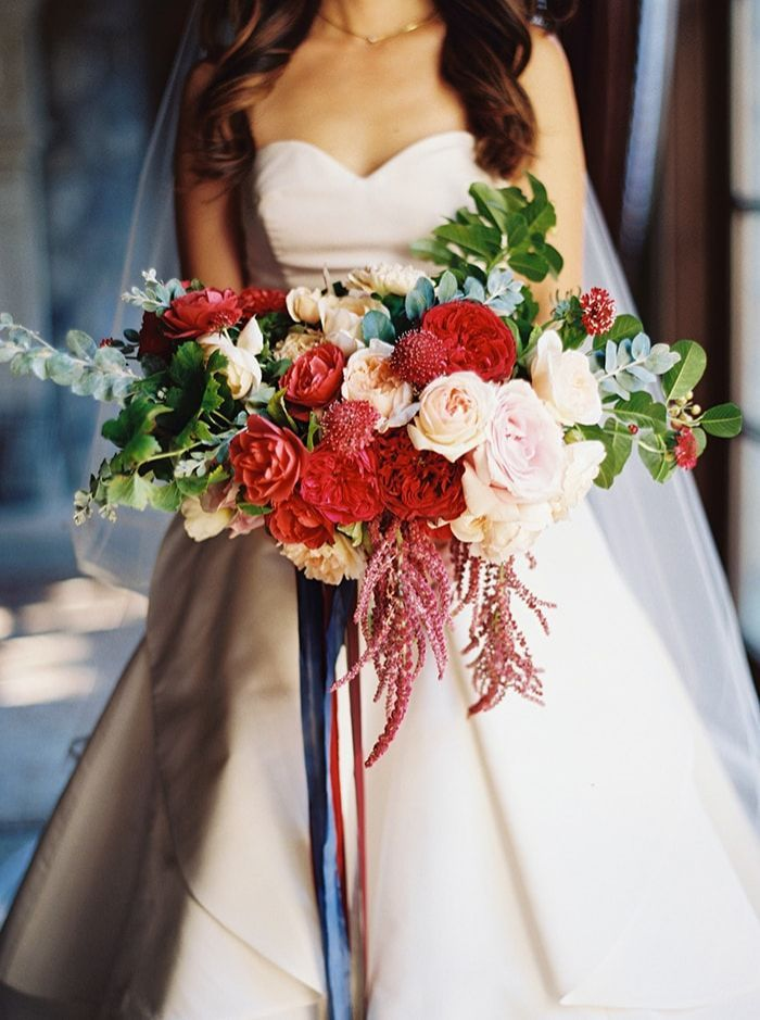 Gorgeous Red and Blue Wedding Inspiration