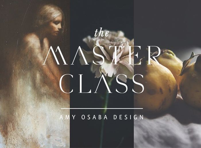 The Master Class: Amy Osaba Design