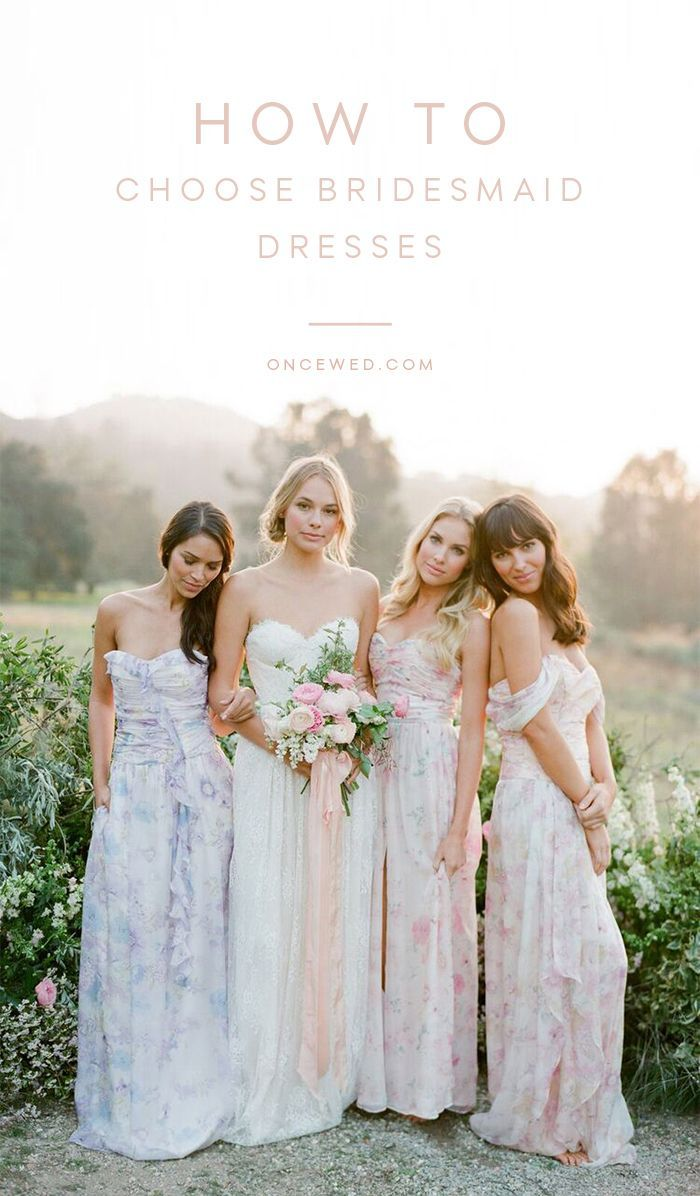 635ec5e6bb1 Ideas for Choosing Bridesmaid Dresses - Once Wed