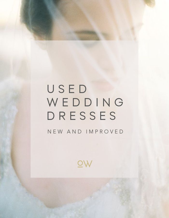 How to Buy or Sell a Used Wedding Dress