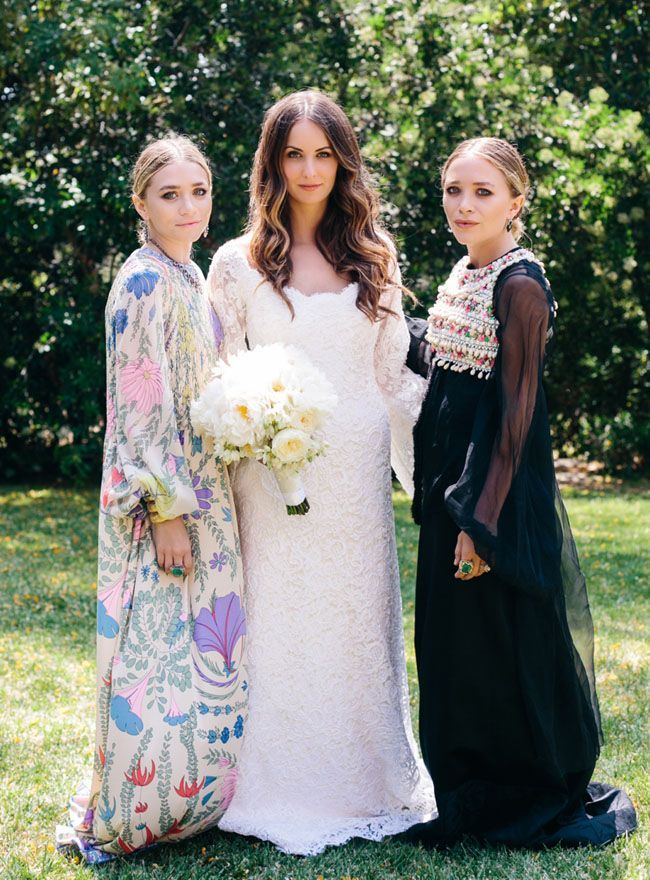 Bridesmaid dress inspiration from the Olsens