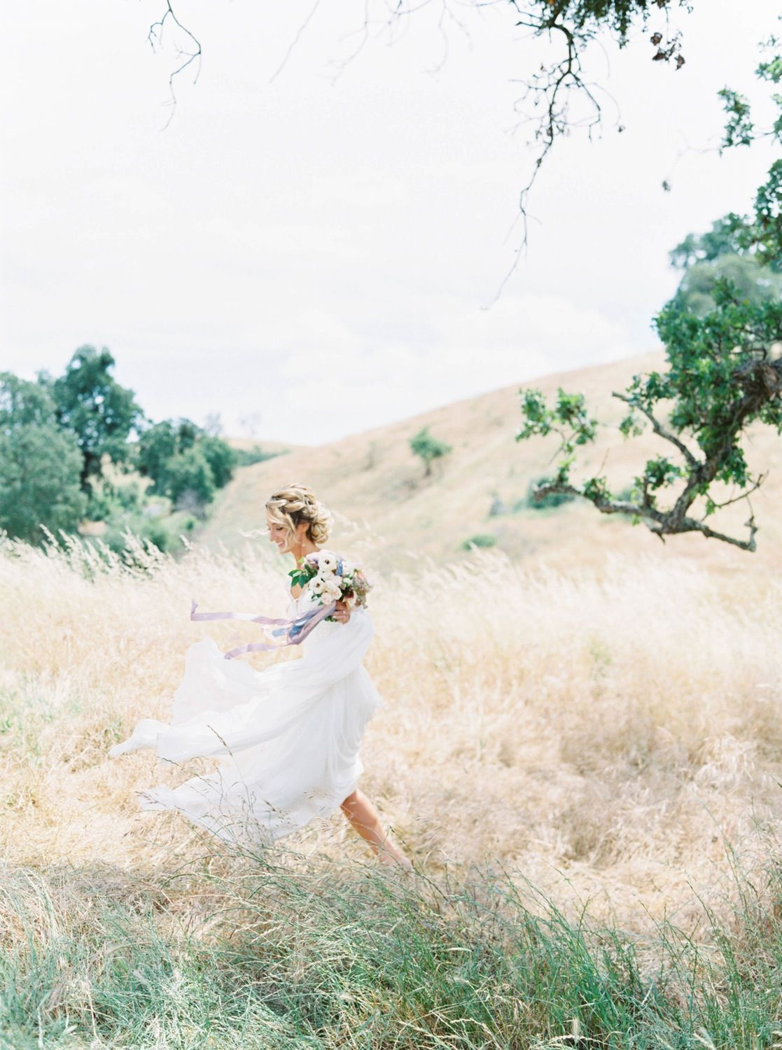 Whimsical Pastel Wedding in North California