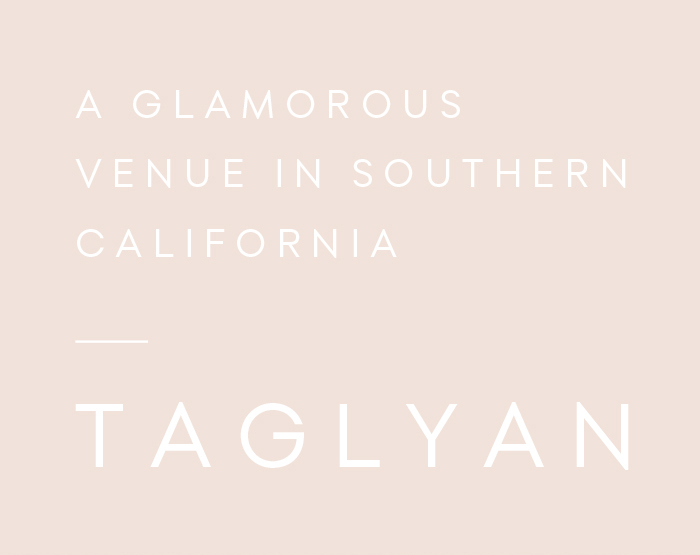 Glamorous Weddings in California by Taglyan