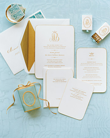 turquoise-gold-wedding-paper-suite