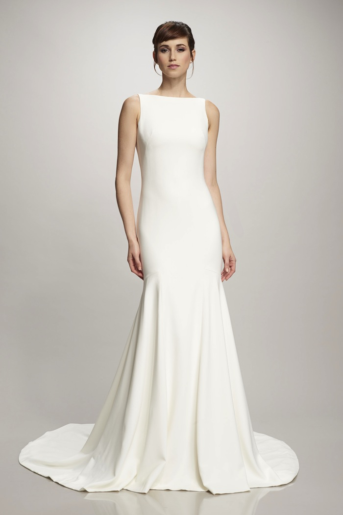 Used wedding dresses classic simplicity once wed for Once used wedding dresses