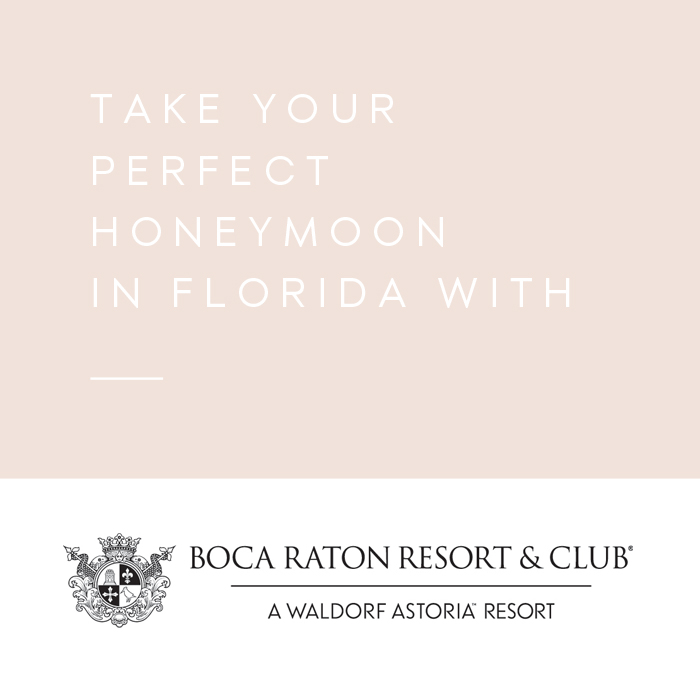 The Best Honeymoon in Florida: Boca Raton Resort & Beach Club