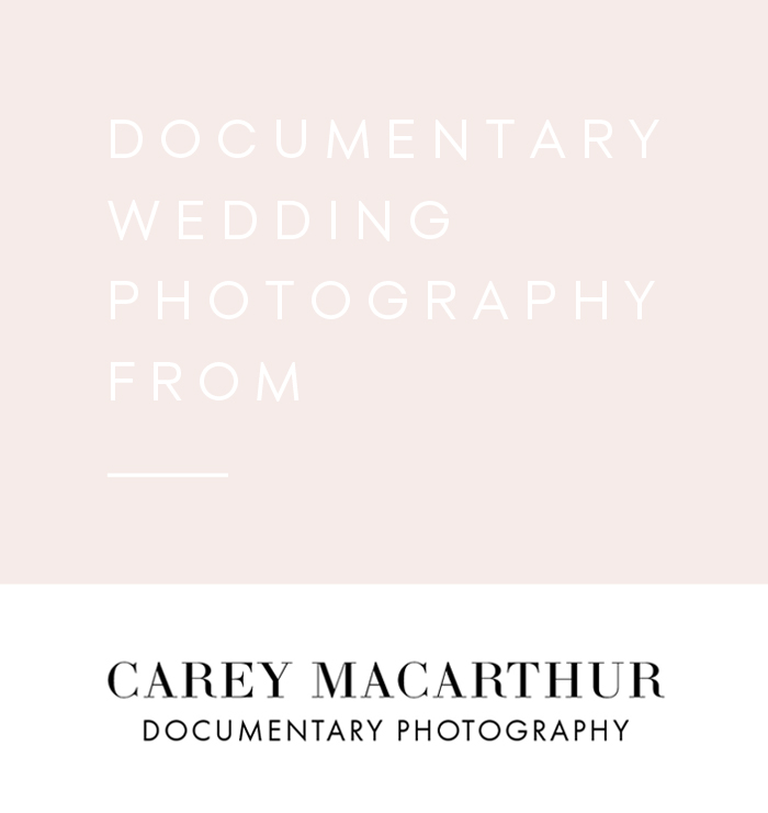 Documentary Wedding Photography by Carey MacArthur