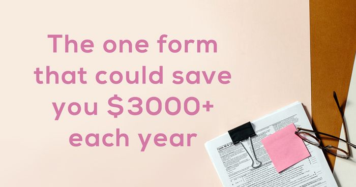 One form that could save your business $3000+ each year