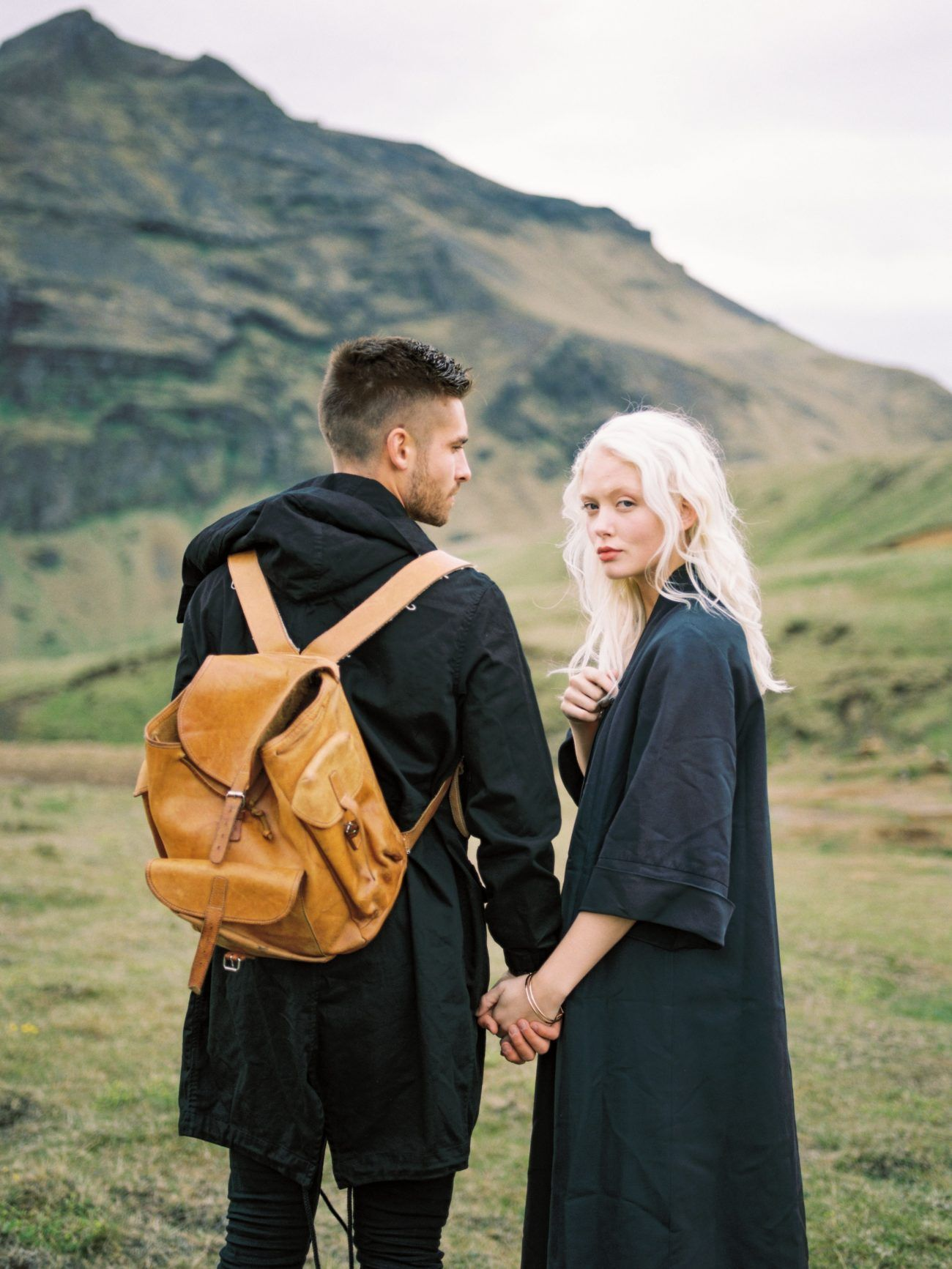 Outdoor Engagement Session in Iceland