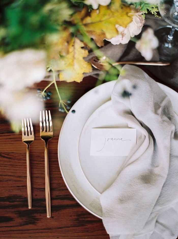 Moody Table Setting Inspiration