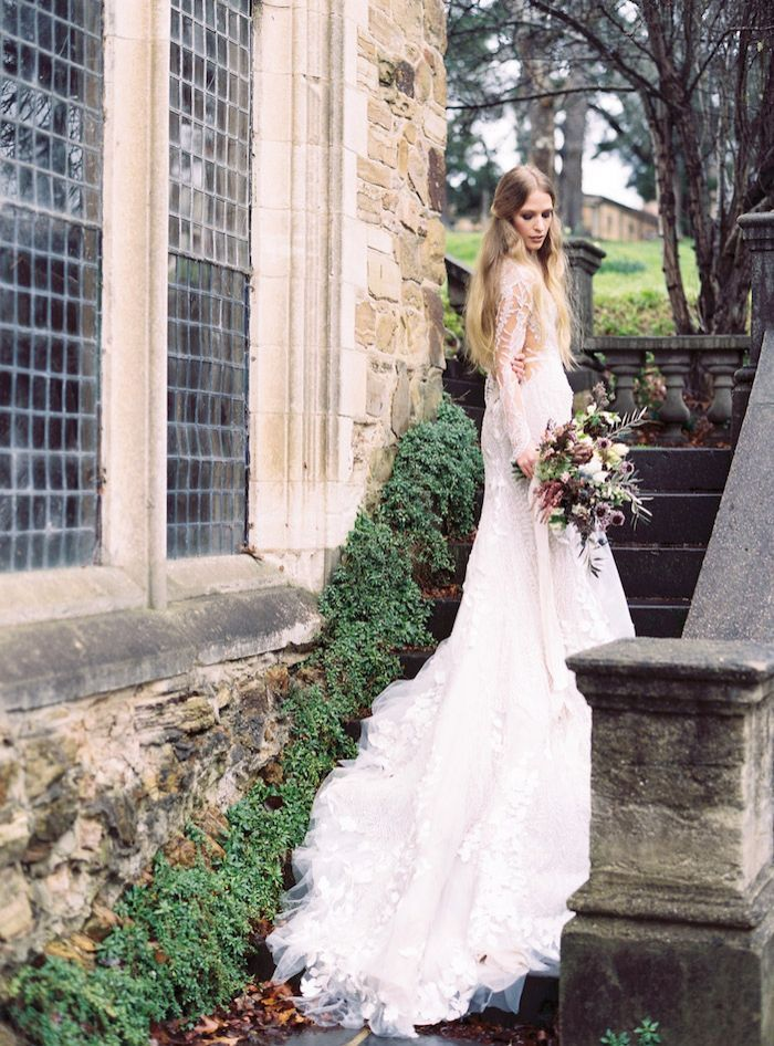 Elegant Wedding Inspiration with Old-World Drama