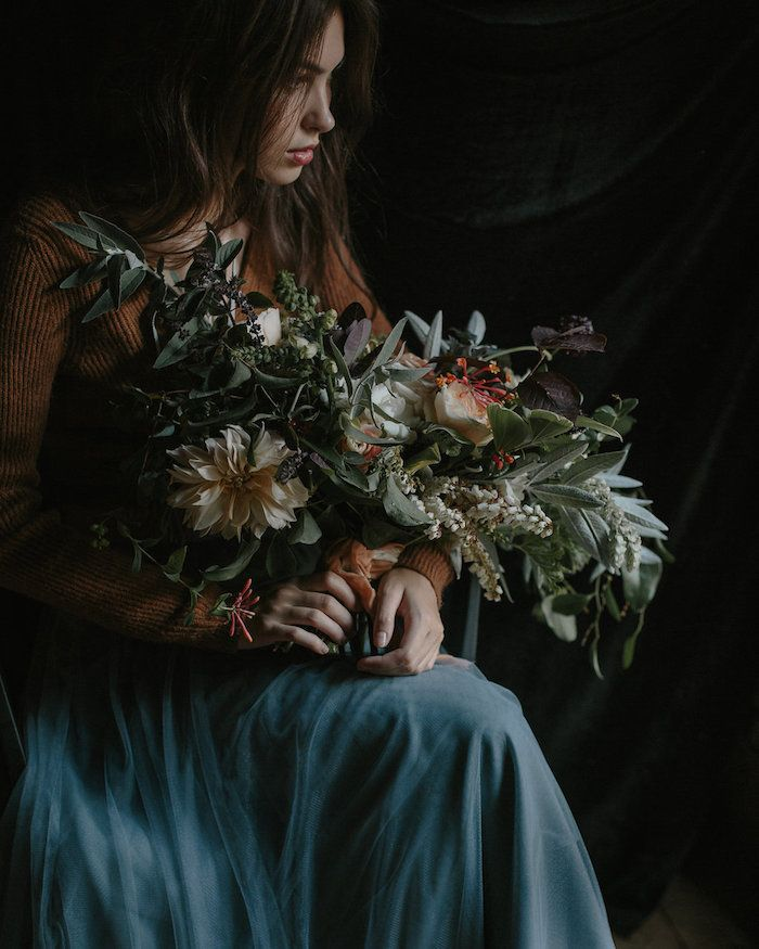 Moody Floral Design Inspiration from the Amy Osaba Master Class | Part 2