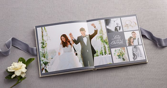 create your own wedding album from shutterfly once wed. Black Bedroom Furniture Sets. Home Design Ideas