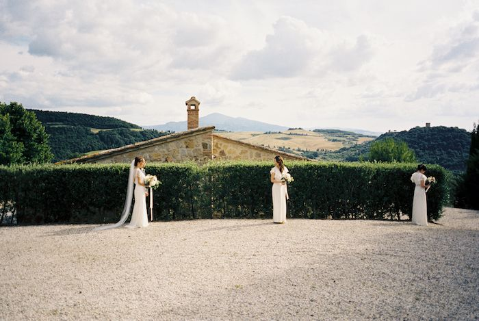 Organic and Intimate Destination Wedding in Italy