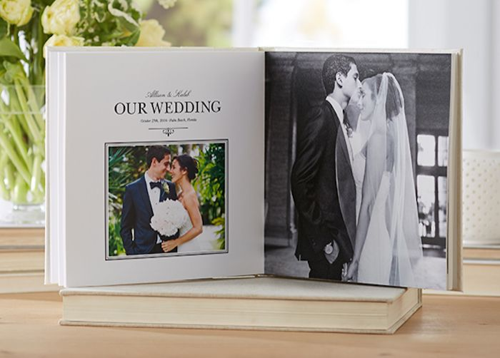 Create Your Own Wedding Album From Shutterfly Once Wed