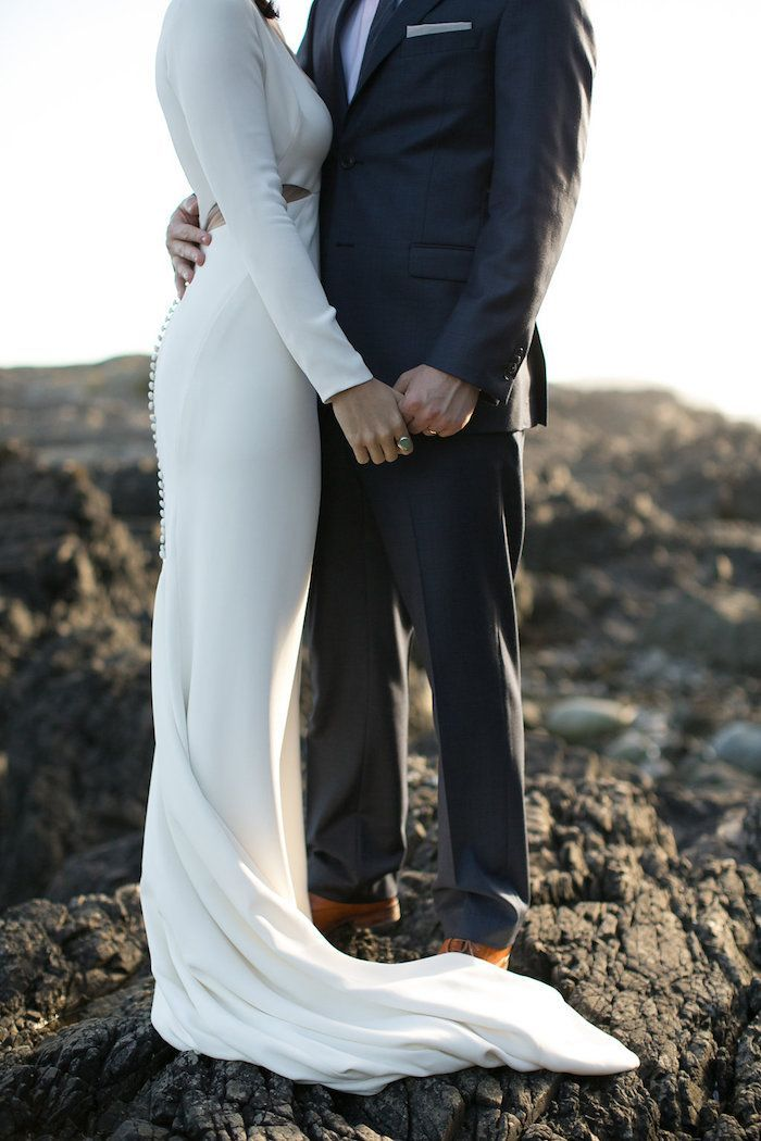 Romantic Waterfront Wedding in Tofino