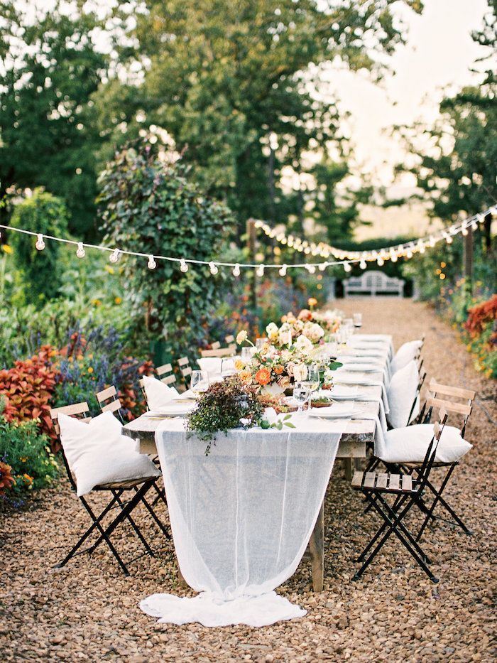 How To Decorate An Intimate Garden Wedding