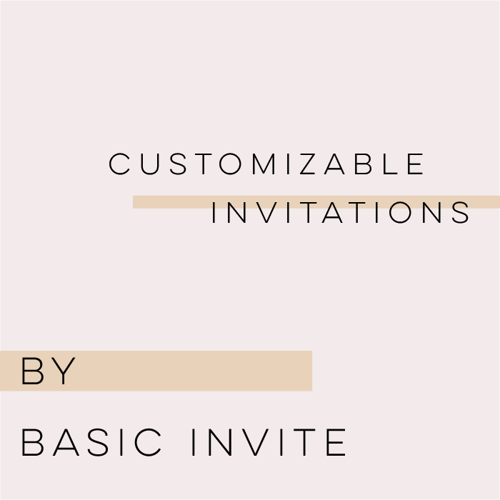 Customizable Wedding Invitations with Timeless Style