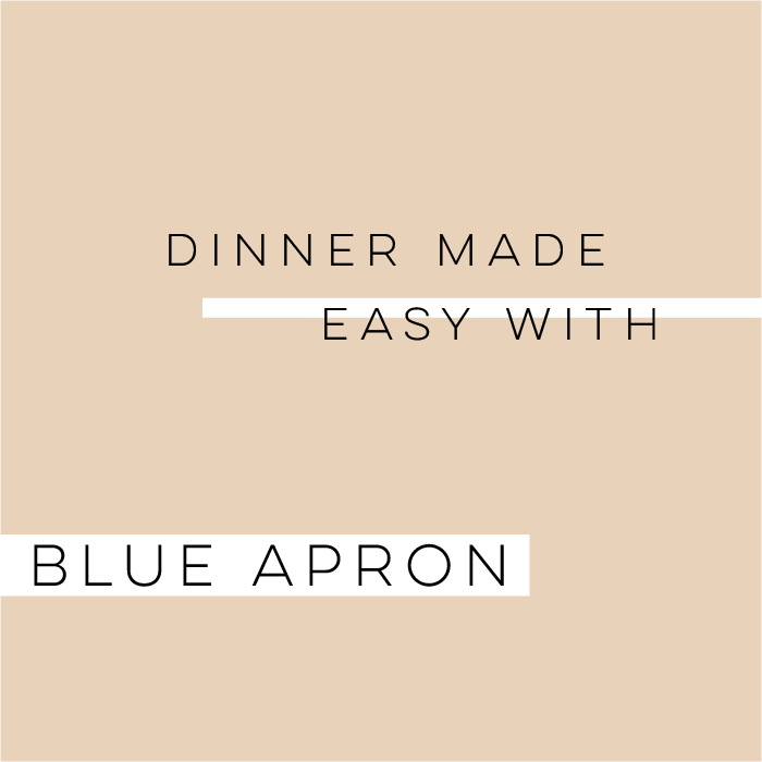 Dinner Made Easy With Blue Apron