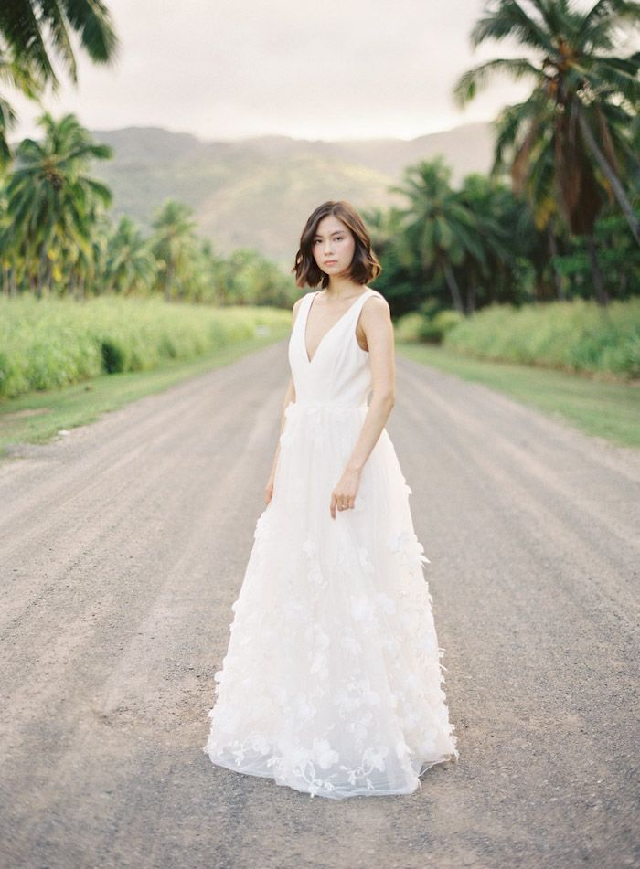 Effortless Tropical Wedding in Hawaii