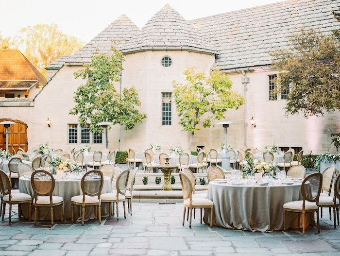 Neutral Elegant Outdoor Wedding: Outdoor Wedding With Neutral Color Palette