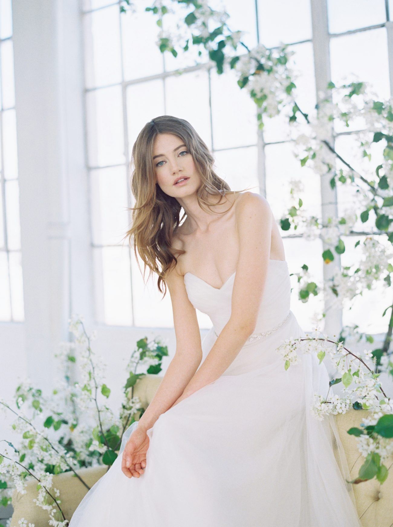 f71757954a14 Effortlessly Stylish Bridal and Bridesmaid Gowns from Jenny Yoo ...