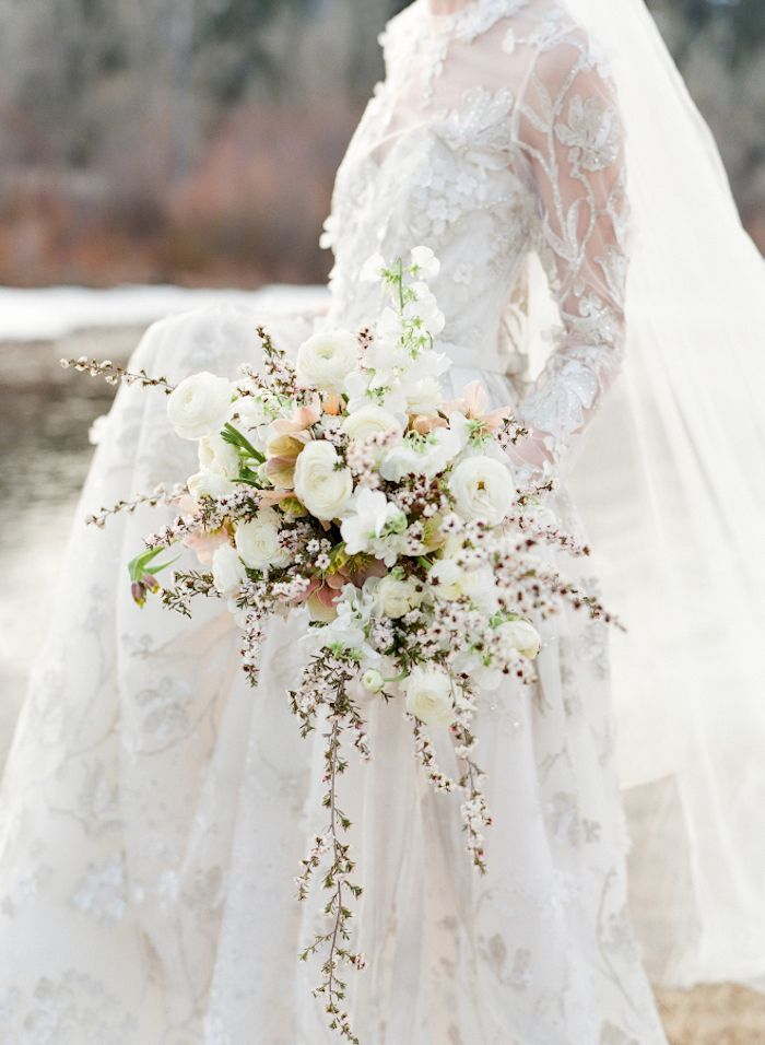 Inspired by Nature: Winter Wedding Flowers By Sarah Winward