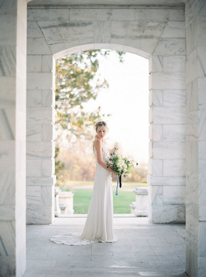 Ethereal Bride in a Classic Setting