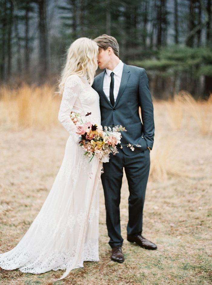 Crisp Fall and Winter Wedding Design Inspiration