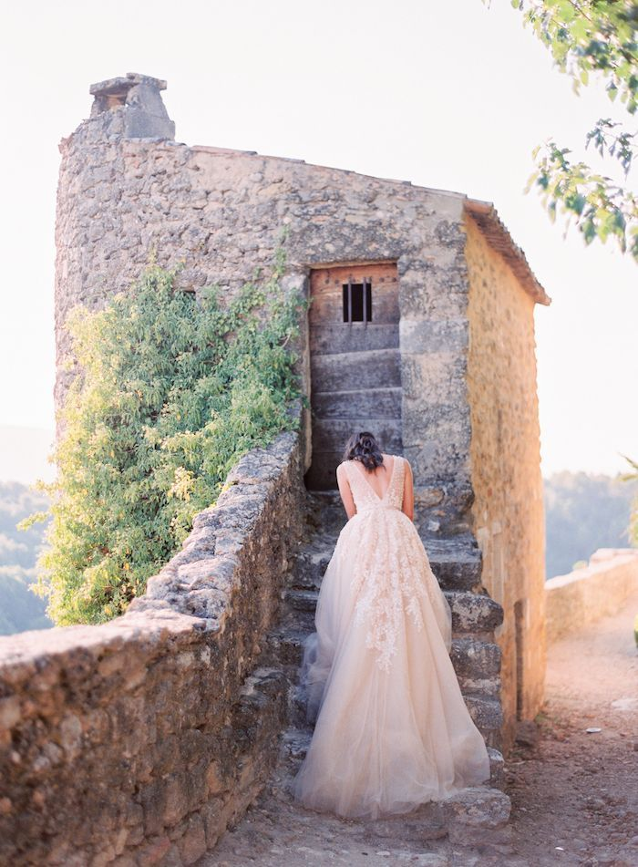 Provence Provides A Stunning Backdrop For An Elegant Wedding