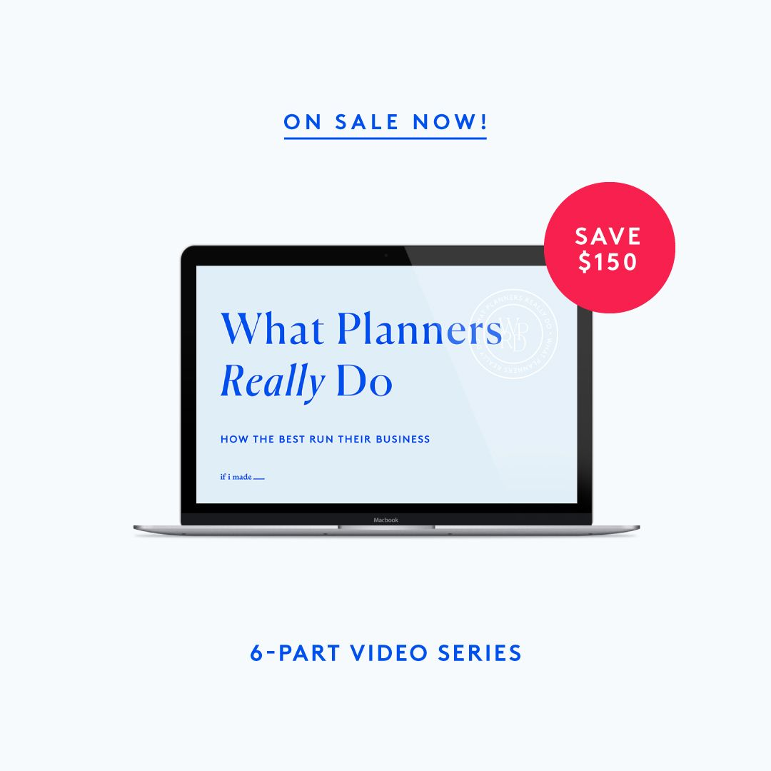 What Planners + Designers Really Do: How The Best Run Their Business