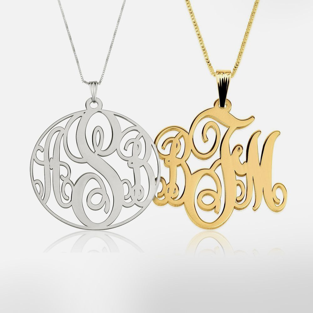 Monogram Necklaces (1)