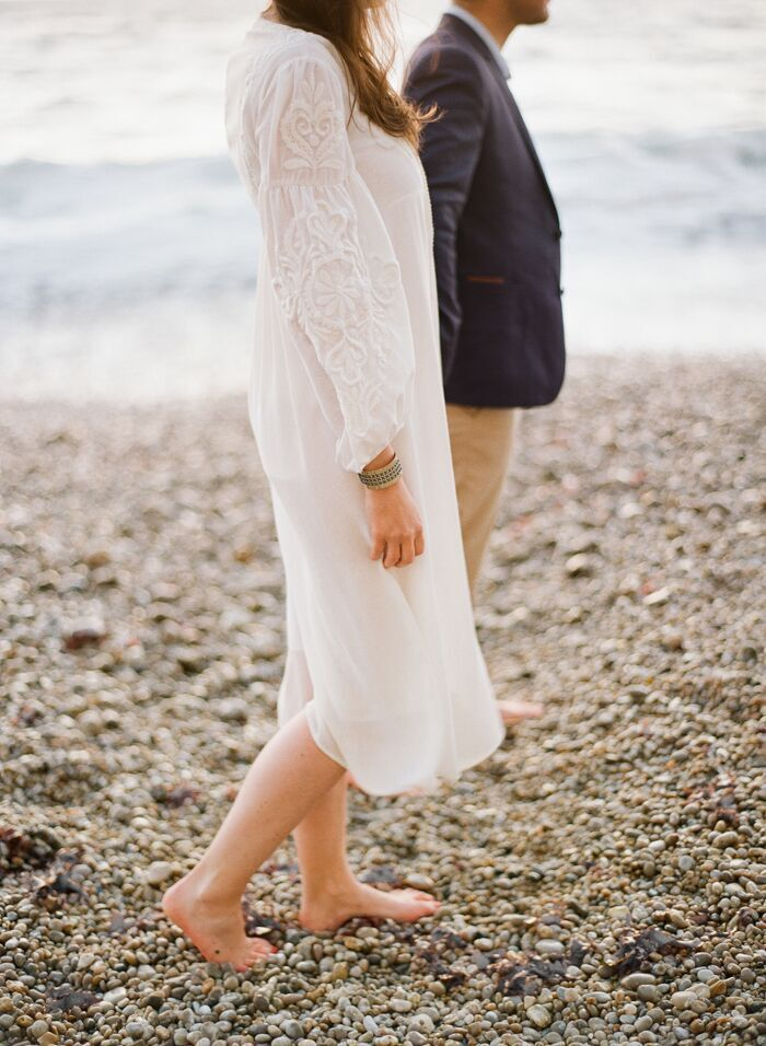 Seaside Engagement Shoot in Normandy