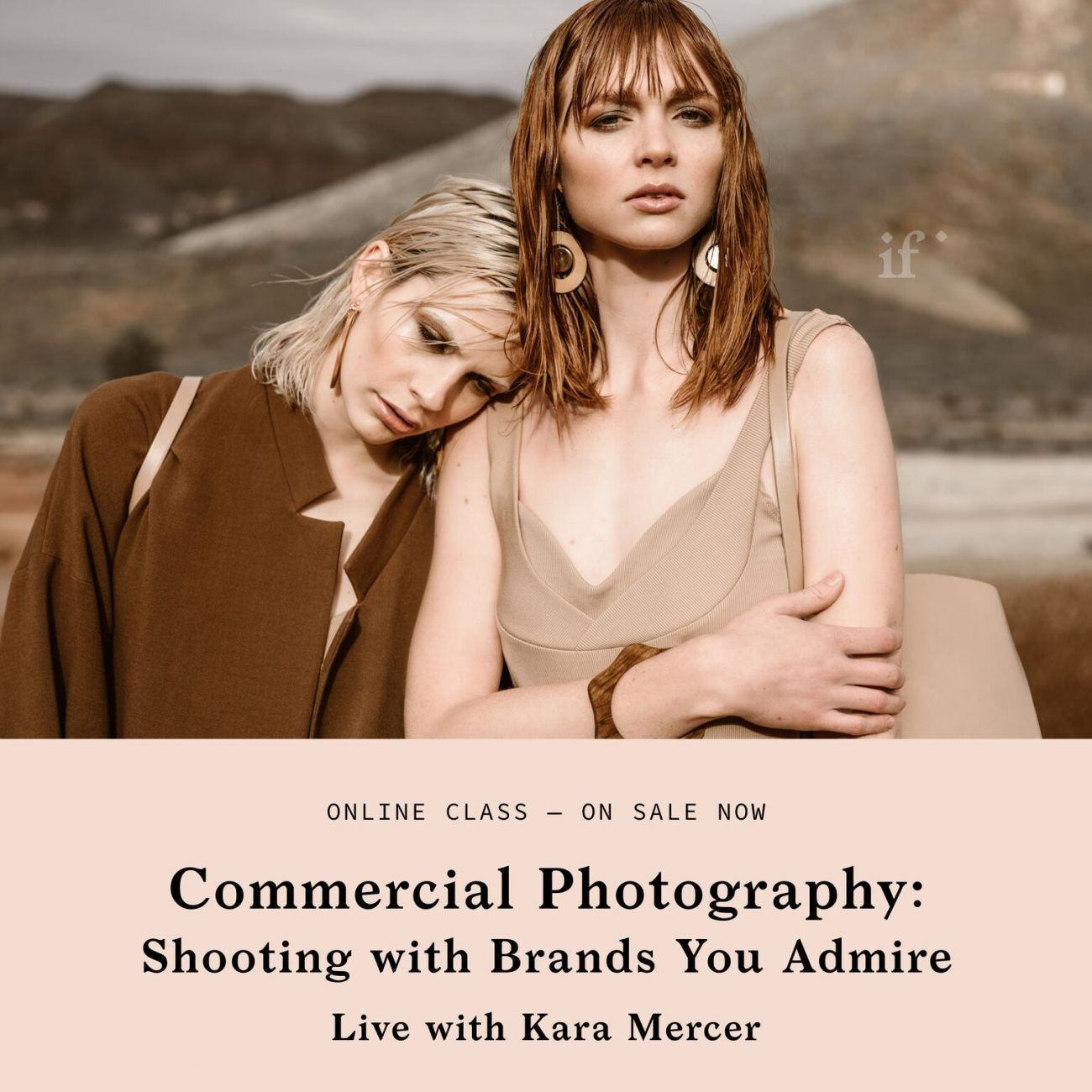 Commercial Photography with Kara Mercer From If I Made