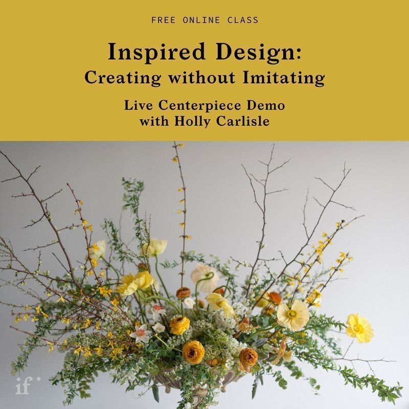 Free Live Centerpiece Demo With Holly Carlisle