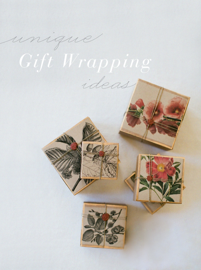 DIY Unique Gift Wrapping Tutorial