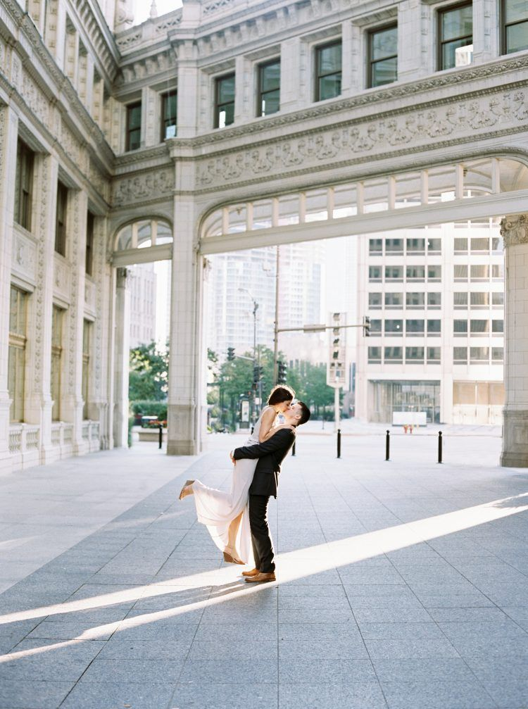 Nathalie and Colby In Love On Lake Shore Drive