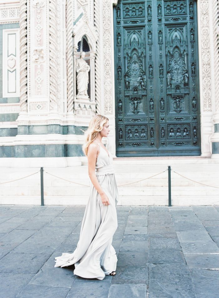 An Ethereal Bridal Shoot In Florence