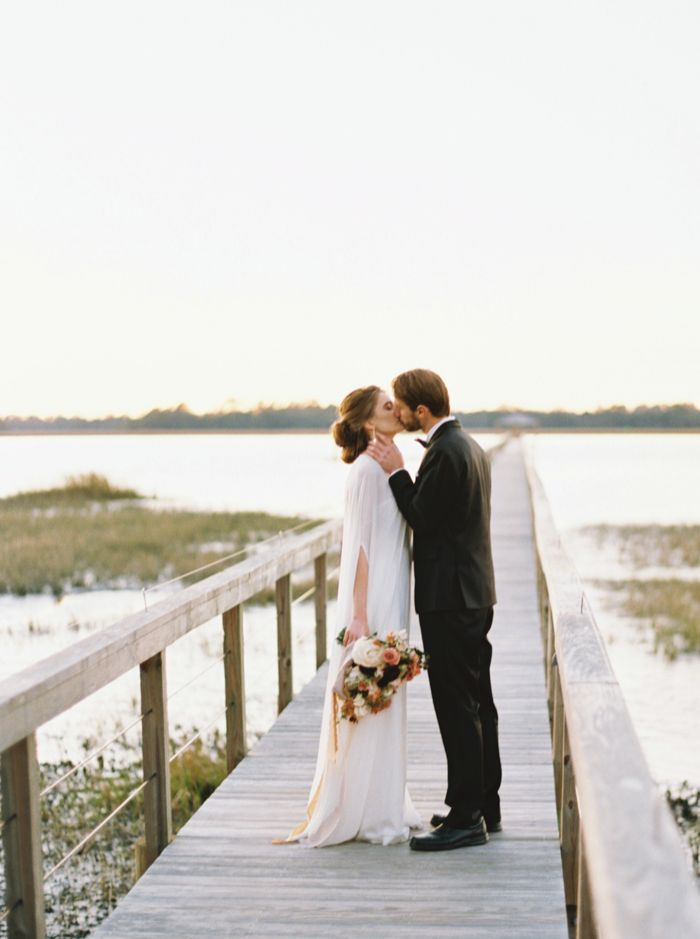 Stunning Wedding Inspiration From Charleston