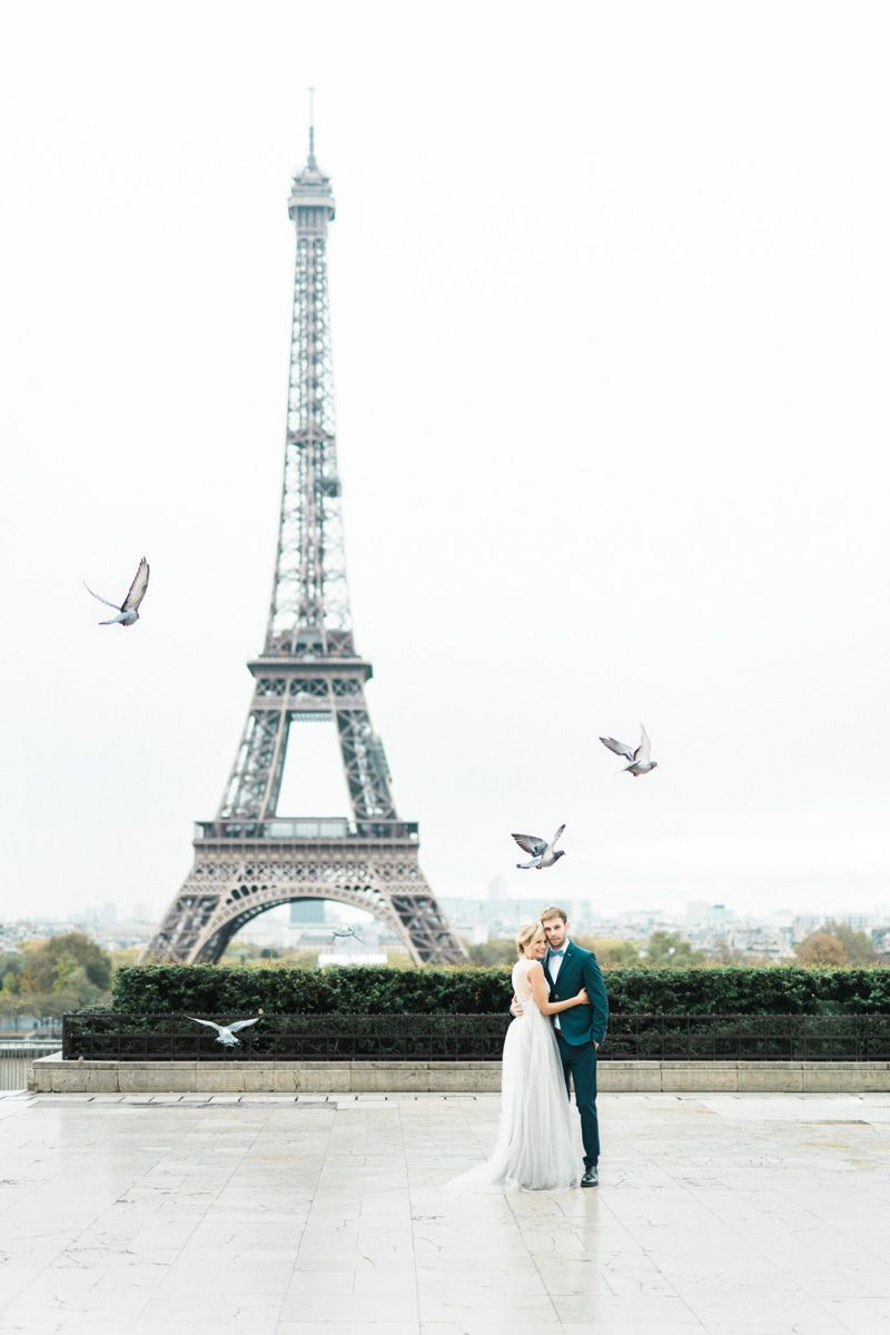 A Lovely Paris Elopement