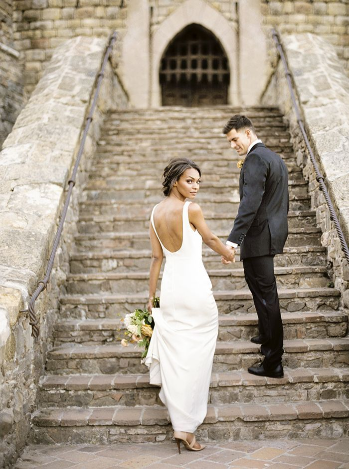 A 13th Century Castle Proves A Stunning Backdrop For A Wedding Shoot