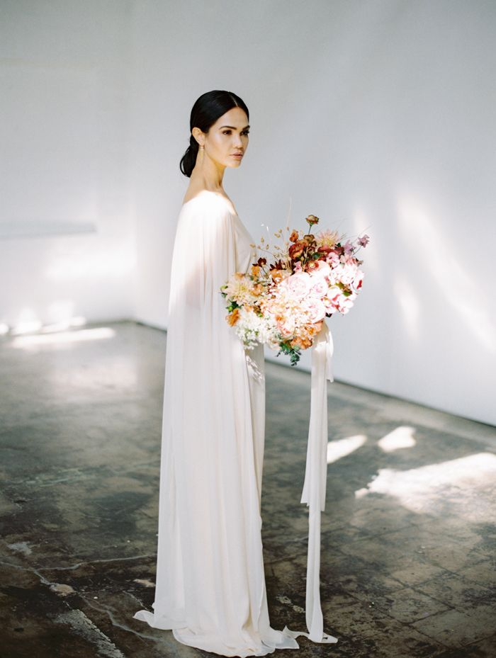 modern runway wedding inspiration 30