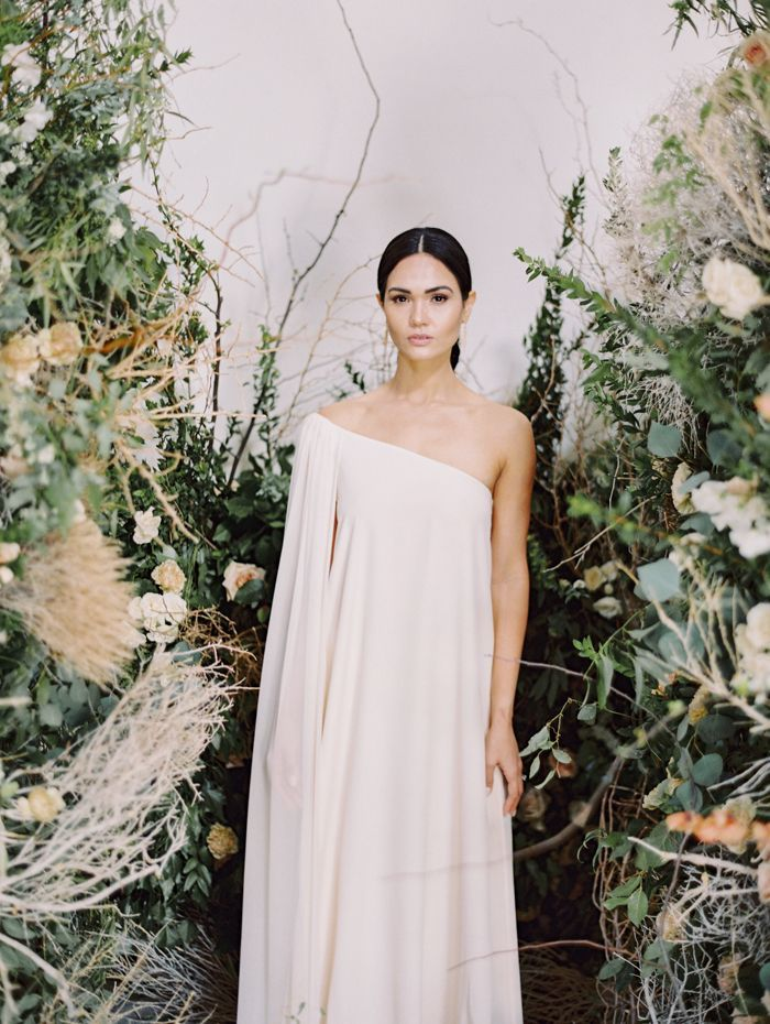 modern runway wedding inspiration 35